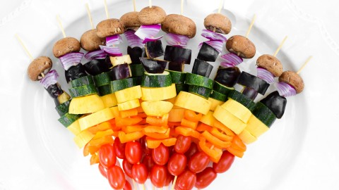 Vegetable Skewers wallpapers high quality