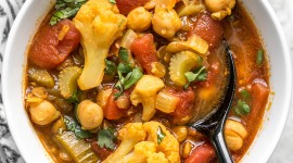 Vegetable Stew Wallpaper For IPhone Free