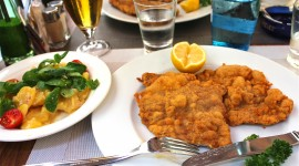 Viennese Schnitzel Photo Free