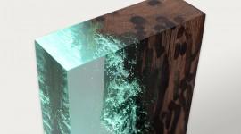 Wood Resin Wallpaper