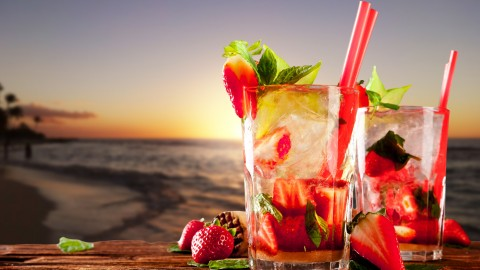4K Drink Mojito wallpapers high quality