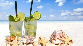 4K Drink Mojito Desktop Wallpaper For PC