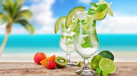 4K Drink Mojito Desktop Wallpaper HD