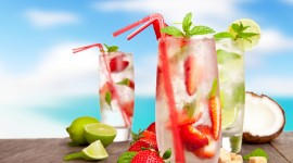 4K Drink Mojito Photo