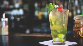 4K Drink Mojito Photo Free
