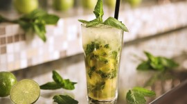4K Drink Mojito Wallpaper For Desktop