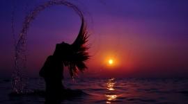 4K Silhouette Sunset Best Wallpaper