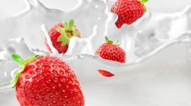 4K Strawberry Photo Download
