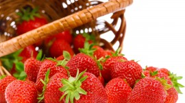 4K Strawberry Photo Free