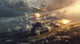 4K Tanks Desktop Wallpaper HD