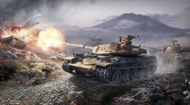 4K Tanks Photo Free