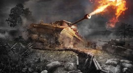 4K Tanks Wallpaper HQ