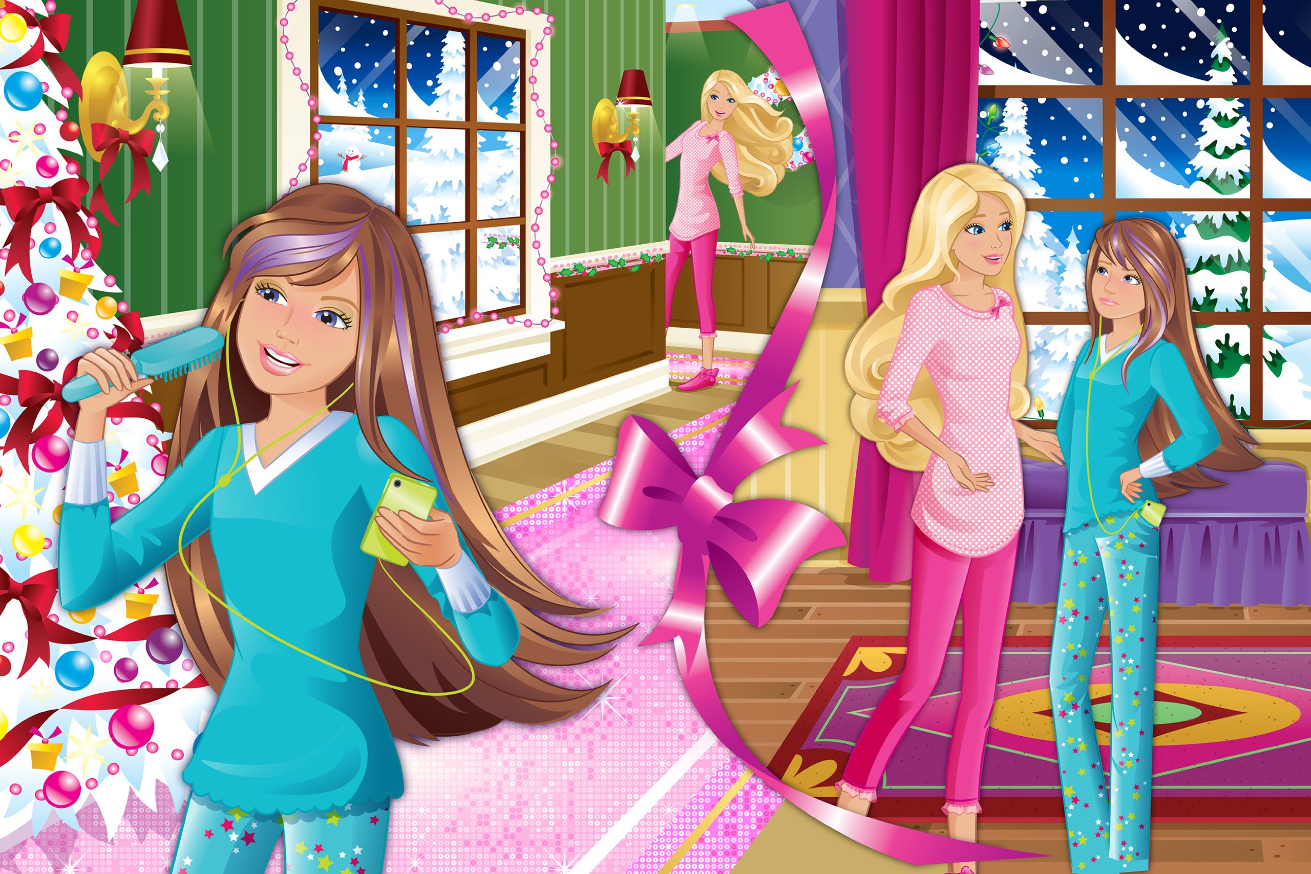 Barbie And Ken: A Perfect Christmas | Online Girl Game ...