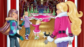Barbie A Perfect Christmas Wallpaper
