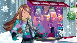 Barbie A Perfect Christmas Wallpaper Free