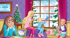Barbie A Perfect Christmas Wallpaper Gallery