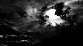 Black Cloud Photo Free