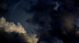 Black Cloud Wallpaper For Desktop