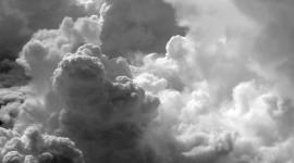 Black Cloud Wallpaper For IPhone