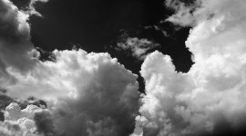 Black Cloud Wallpaper For PC