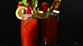 Bloody Mary Drink Wallpaper