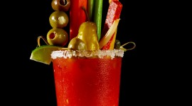 Bloody Mary Drink Wallpaper For Android
