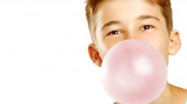 Bubbles Of Chewing Gum Best Wallpaper