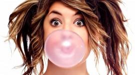 Bubbles Of Chewing Gum Desktop Wallpaper HD