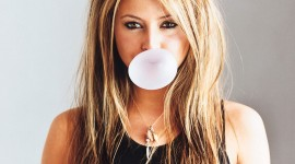 Bubbles Of Chewing Gum Wallpaper 1080p