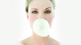 Bubbles Of Chewing Gum Wallpaper Download