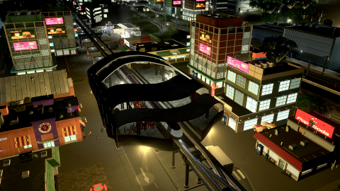 Cities Skylines Mass Transit wallpapers high quality