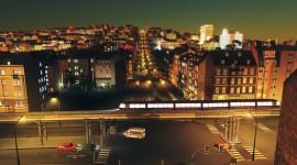 Cities Skylines Mass Transit Pics