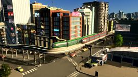 Cities Skylines Mass Transit Wallpaper