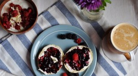 Cottage Cheese With Jam Wallpaper Free