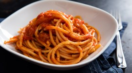 Fast Food Pasta Desktop Wallpaper HD