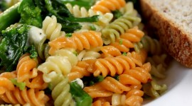 Fast Food Pasta Wallpaper Background