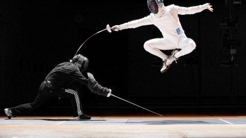 Fencing wallpapers high quality