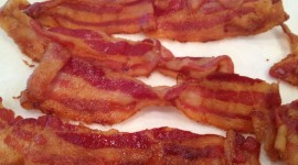 Fried Bacon Wallpaper HD