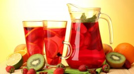 Fruit Drink Wallpaper Download Free