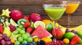 Fruit Drink Wallpaper HD