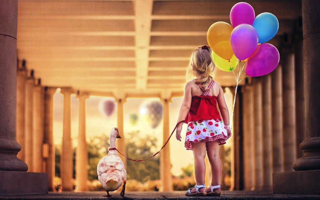 Girl With Balloon wallpapers HD