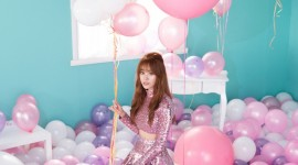 Girl With Balloon Wallpaper For Android#1