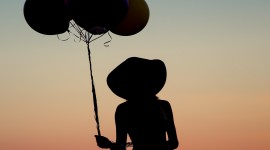 Girl With Balloon Wallpaper For Android#2