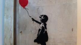 Girl With Balloon Wallpaper Free