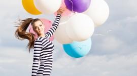 Girl With Balloon Wallpaper Full HD#1