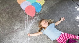 Girl With Balloon Wallpaper Gallery
