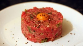 Meat Tartare Desktop Wallpaper