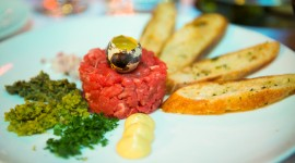 Meat Tartare Desktop Wallpaper HD