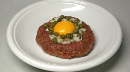 Meat Tartare Wallpaper Background