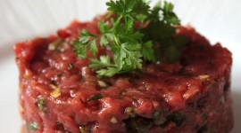 Meat Tartare Wallpaper For IPhone Download